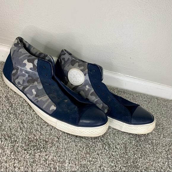 Converse Camo Suede Sneakers